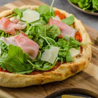 Our Parma Pizza is proven to be everyone's favorite! If you haven't tried it yet, make sure to drop by our Cafe-Pizzeria at AA Centre soon.