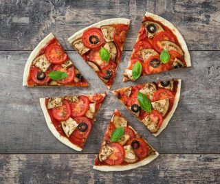 If you were to choose, what would you want to have on your vegetarian pizza?