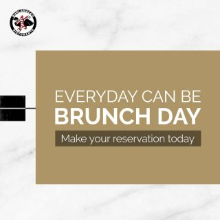 Everyday can be Brunch Day at Burlamacco Ristorante!  Fancy Breakfast for Lunch?  Try breakfast favourites like 'Eggs Royale' and wholesome 'Burlamacco Breakfast'.  Fancy Lunch for Breakfast?  Order our Signature 'Lobster Tail Linguine in Arrabbiata Sauce' or 'Gnocchi in Gorgonzola Cheese Sauce'  That's not all! View our full brunch menu on our website and make a reservation today!  Link in bio!