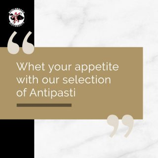 Antipasti simply refers to the first dish of a meal.  In Italian Cuisine, antipasti comes in a wide variety of styles ranging from salads to crackers to meat🥩  At Burlamacco, we are proud of our selection of antipasti, many of which are diners' favourites.  Check out our visual menu on our social or view our full menu on our website (link in bio)