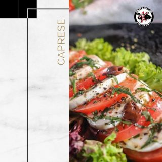 Fancy an Italian Salad?  Try our traditional Italian Caprese, a salad made of freshly sliced Mozzarella, Roma Tomatoes and Peach drizzled with balsamic reduction.  💪Fuel your day the right way with our Caprese for brunch!  📝Brunch Menu: Every Tuesday to Sunday ⏱️ Brunch Hours: 8:00am - 4:00pm 📍Location: 217 East Coast Road