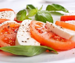 A heavenly mix of  sliced mozzarella, tomatoes, and sweet basil, seasoned with salt, olive oil, or balsamic vinaigrette.👌  Enjoy our Caprese salad while working from home! Head over to the link below to order your takeaways.😉 https://order.burlamacco.com.sg