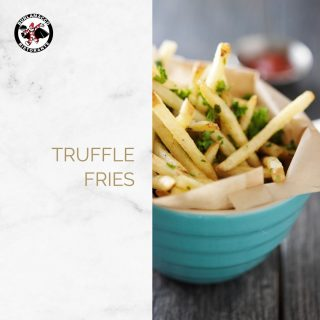 """""""What's an Italian meal without Truffle?  Enjoy delicious earthy truffle fries drizzled with Italian truffle oil with your Brunch!  📝Brunch Menu: Every Tuesday to Sunday ⏱️ Brunch Hours: 8:00am - 4:00pm 📍Location: 217 East Coast Road"""""""